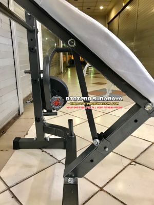 Paket Lengkap! Bench press ID-781 + Stick Barbell + Plate Beban 40KG